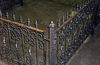 Оградки кованые