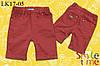 Шорты для мальчика стрейч-джинс р.92,98,104,110,116 SmileTime Classic Cotton, бордо (детские)