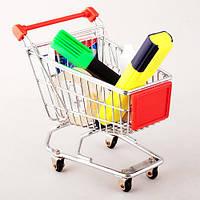 Мини тележка из супермаркета (Декоративная Подставка )