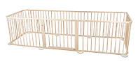 Манеж дерев'яний , клітка для тварин, 8 частин деревянный, клетка