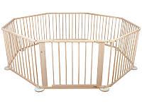 Манеж дитячий дерев'яний , клітка, 8 частин деревянный, клетка, манеж детский, фото 1