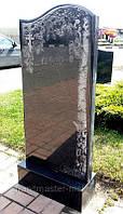 Памятник гранитный одинарный волна