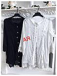 Женская стильная рубашка-туника (2 цвета), фото 2