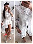 Женская стильная рубашка-туника (2 цвета), фото 3