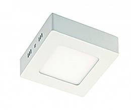 Потолочный накладной светильник DELUX CFQ LED 40 4100К 12 Вт квадрат
