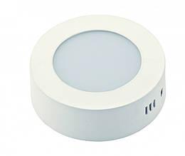 Потолочный накладной светильник DELUX CFQ LED 40 4100К 12 Вт круг