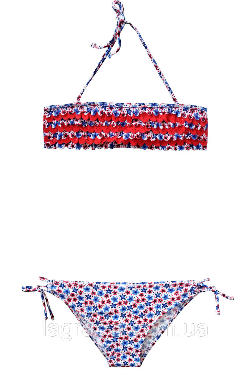 Модный детский купальник для девочки