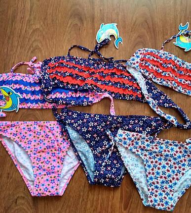Модный детский купальник для девочки, фото 2