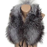 Воротник из меха чернобурой лисы RO-1348