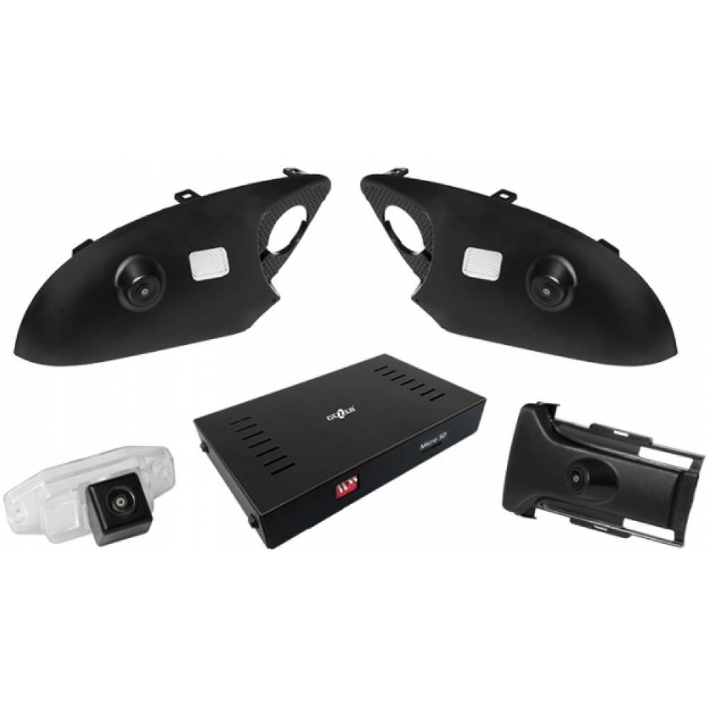 Система кругового обзора Gazer CKR4400-J150 (Toyota Prado)