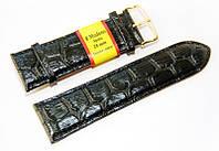 Ремешок для часов Modeno MD2801BL-01 Крокодил Черный