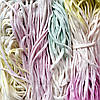 Пряжа трикотажная ручного крашения, цвет Маршмэллоу (85 м)