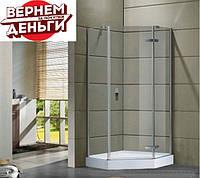 Пятиугольная душевая кабинка Eger Stefani 90x90 599-535