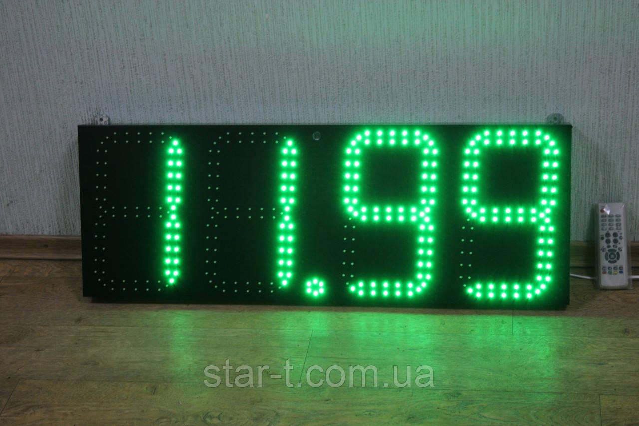 Светодиодный ценник высота цифры 300мм.