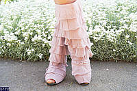 Женские полусапожки летние (36-42) ткань+макраме купить оптом и в Розницу в одессе 7км