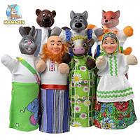 Кукольный домашний театр СОЛОМЕННЫЙ БЫЧОК