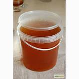 Банку (відро) 1 літр з герметичною кришкою для меду, фото 2