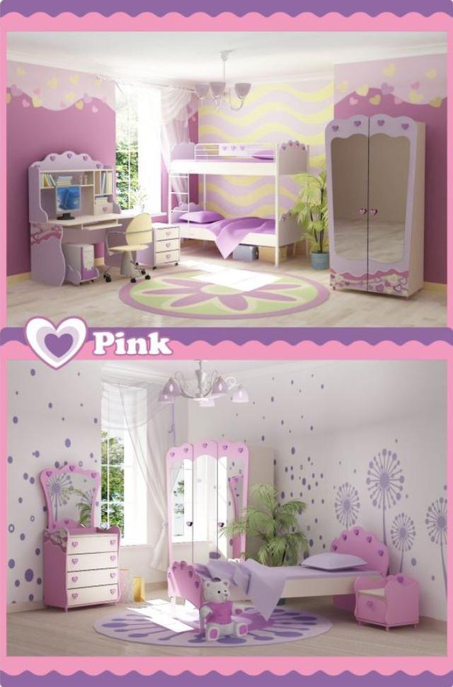 Детская комната Pink (Модификации и оформление)