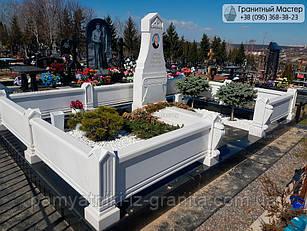 Пам'ятник з мармуру № 8