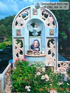 Памятник из мрамора № 6