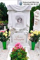 Памятник из мрамора № 11