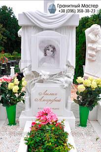 Пам'ятник з мармуру № 11