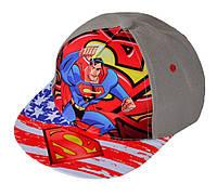 Кепка реперка детская с суперменом