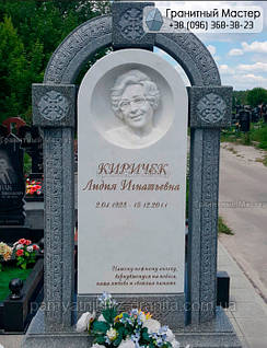 Памятник из мрамора № 12