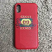 Чехол Gucci iPhone X Case Future Red реплика