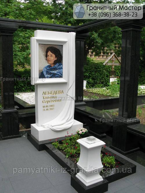 Памятник из мрамора № 14