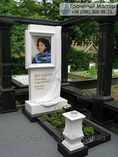 Пам'ятник з мармуру № 14