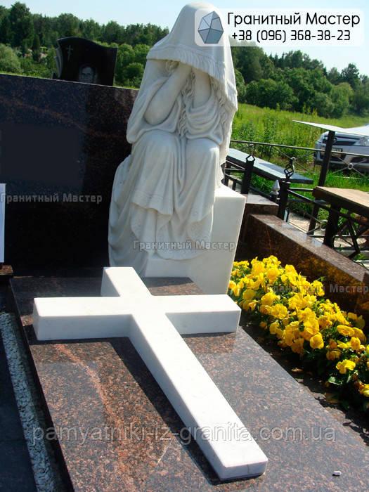 Памятник из мрамора № 16