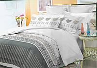 Комплект постельного белья полуторного 150х220 см полиэстер TM KRISPOL