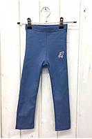 Модные детские леггинсы цвета джинс. Размеры: 92-116