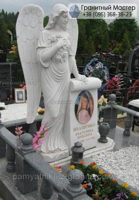Памятник из мрамора № 18
