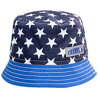 Панамка со звездами и голубым полем
