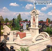Памятник из мрамора № 20