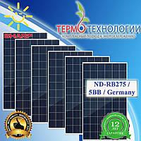 Солнечные батареи Sharp ND-RB275 / 5BB / Germany