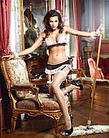 BACI  Костюм горничной Bikini set housemaid style B1352-BLACK WHITE