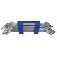 Набор ключей гаечных рожковых S&R 6шт (10х11мм-22х24мм)