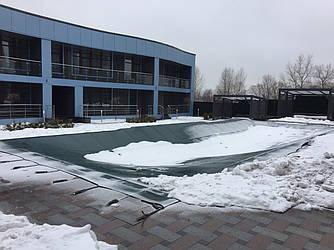 Тенты для консервации бассейнов