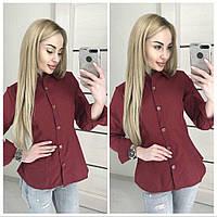 Женская стильная рубашка в клетку (3 цвета)