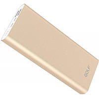 Портативная батарея GOLF Power Bank 20000 mAh Edge X6 Li-pol Gold