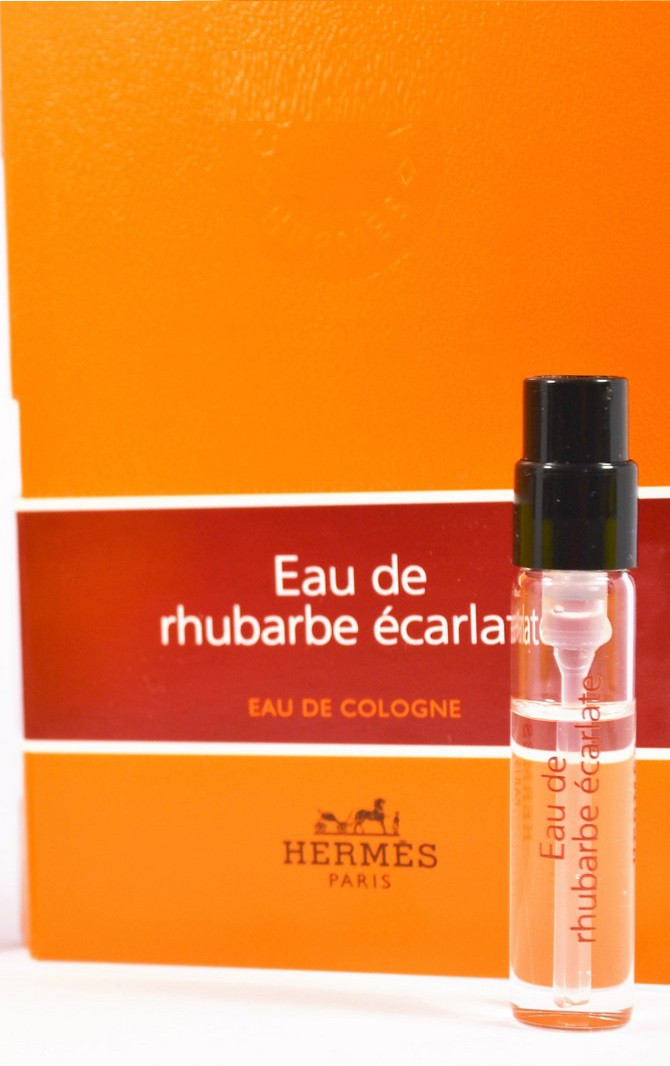 купить Hermes Eau De Rhubarbe Ecarlate Edc Vial U 2 парфюмерия