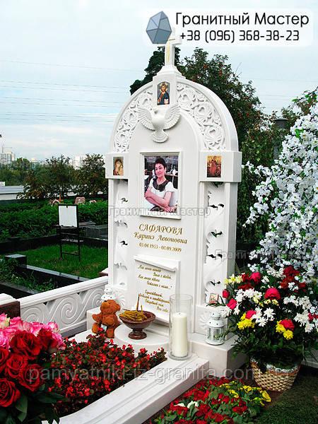 Памятник из мрамора № 21