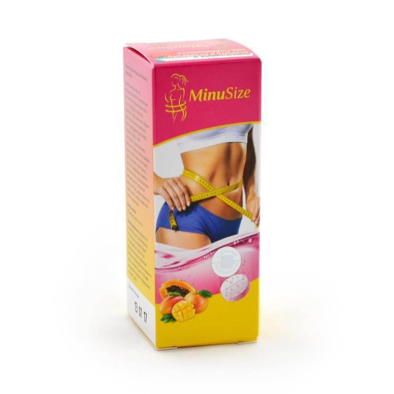 MinuSize - Высокоэффективные шипучие таблетки для похудения (МинуСайз)