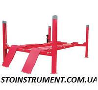 Подъемник для автосервиса 4-х стоечный 4 тонны  LAUNCH (Лаенч красный) TLT440EW