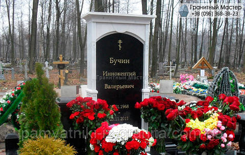 Памятник из мрамора № 22