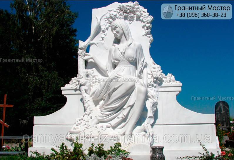 Пам'ятник з мармуру № 23