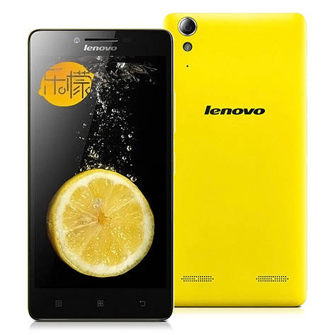 Смартфон Lenovo Lemo K3W 3G (1Gb+16Gb)Qualcomm MSM8916 Quad Core Android 4.4 (Yellow), фото 2